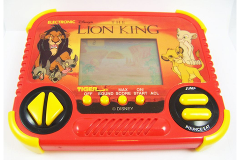 Tiger Electronic - Handheld Game - The Lion King