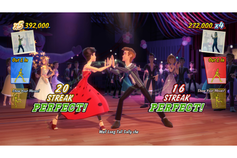 Grease Dance (Xbox 360) Screenshots