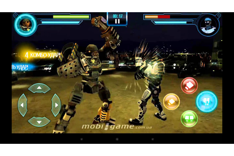Real Steel World Robot Boxing game for Android - YouTube