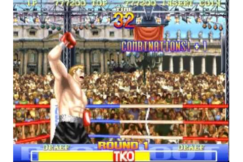 BEST BOUT BOXING Arcade Game Beaten - YouTube