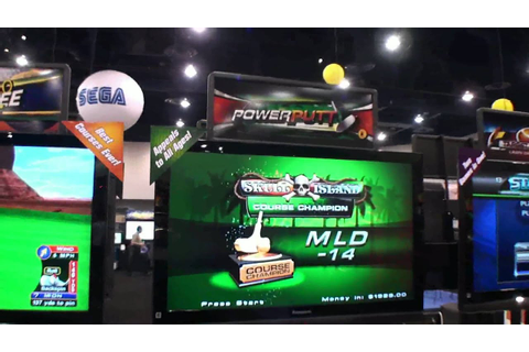 Power Putt Miniature Golf Video Arcade Game - BMIGaming ...