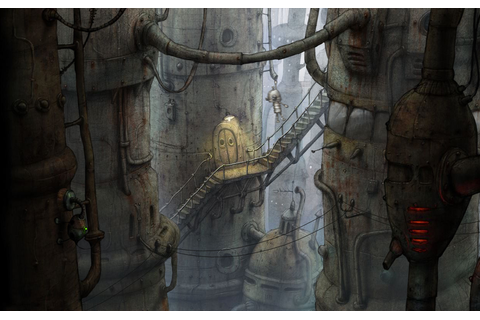 talkin' about this game here, machinarium — Penny Arcade