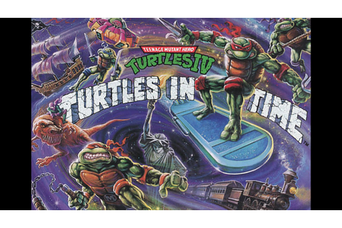 Teenage Mutant Ninja Turtles IV: Turtles In Time (Complete ...