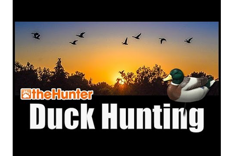 Duck Hunting Tutorial - theHunter Hunting Game - YouTube