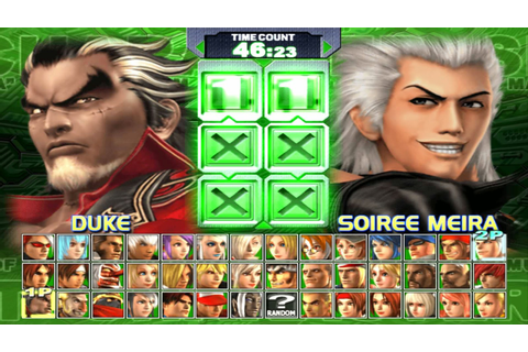 games mania: The King of Fighters: Maximum Impact ...