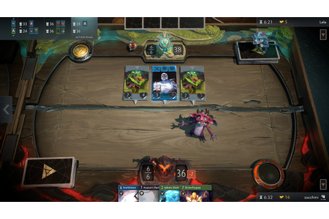 See First Screenshots of Valve's Next Game, Artifact - IGN