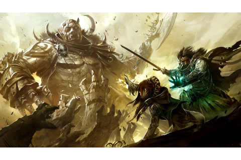 video Games, Guild Wars 2, Artwork Wallpapers HD / Desktop ...