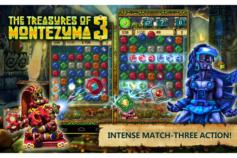 Treasures of Montezuma 3 Free. True Match-3 Game ...
