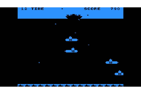 Depthcharge - (1977) - Arcade - gameplay HD - YouTube