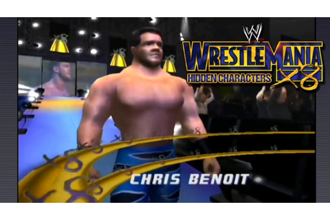 WWE WrestleMania X8 - Hidden Characters - YouTube