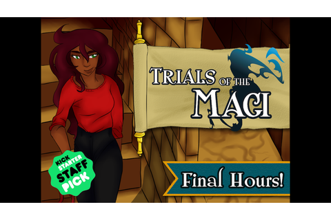 Trials of the Magi: Role-playing Game by Sproutli Games —Kickstarter