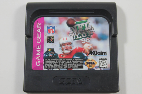 NFL Quarterback Club 96 - Sega Game Gear