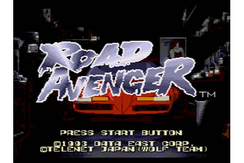 Road Avenger Sega CD Game