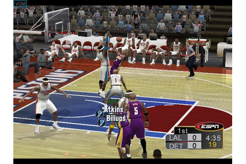 ESPN NBA 2K5 for Microsoft Xbox - The Video Games Museum