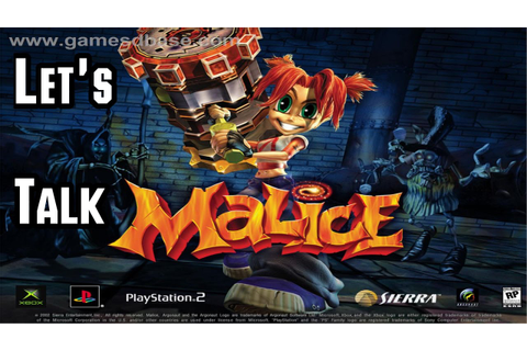 Let's Talk About Malice (2004) Original Xbox Game - A ...