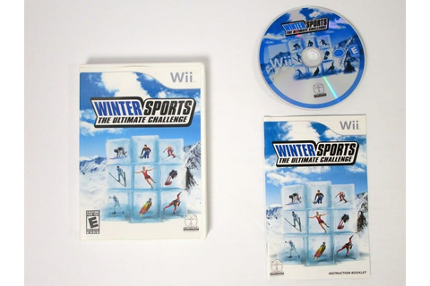 Winter Sports the Ultimate Challenge game for Wii ...