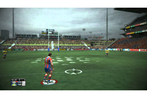 Rugby League Live 2 Gameplay on LEGEND difficulty ...