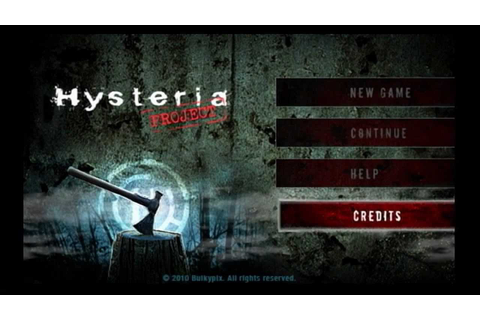Hysteria Project for PlayStation 3 and PSP - YouTube