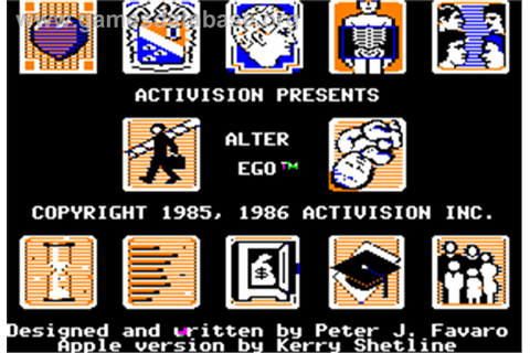 Alter Ego - Apple II - Games Database