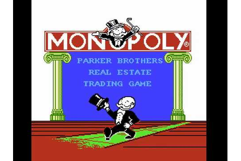 NES Longplay [665] Monopoly - YouTube