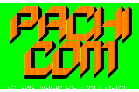Pachicom (1987) by Soft Vision NEC PC8801 game