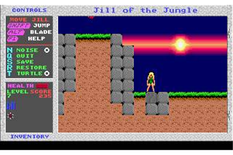 Jill of the Jungle Download (1992 Arcade action Game)