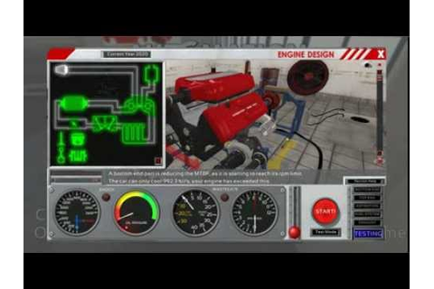 Realistic Engine Building Game - 006 - 2700hp Turbocharged ...