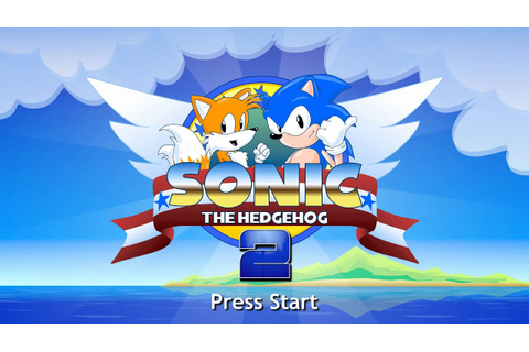 Sonic The Hedgehog 2 HD Remastered Intro! - YouTube