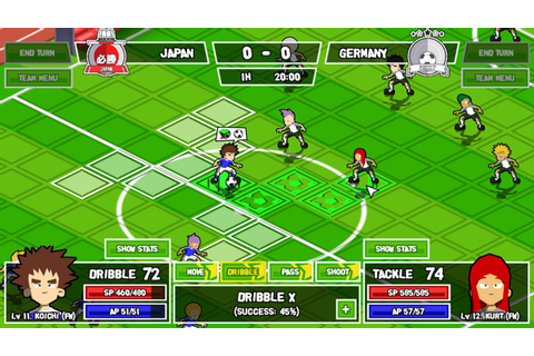 Tactical soccer RPG Ganbare! Super Strikers launches July ...