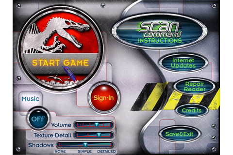 Scan Command: Jurassic Park Screenshots for Windows ...
