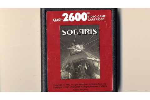Classic Game Room - SOLARIS review for Atari 2600 - YouTube