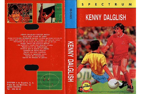 Kenny Dalglish Soccer Match (Impressions - 1990): Spanish ...