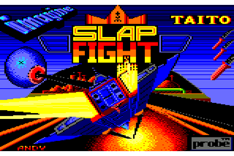 Slap Fight (1987) by Imagine Amstrad CPC game