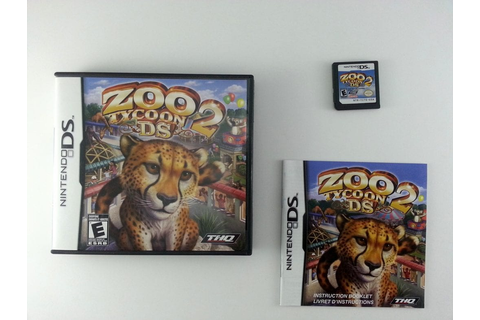 Zoo Tycoon 2 game for Nintendo DS (Complete) | The Game Guy