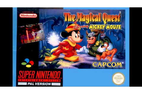 The Magical Quest Starring Mickey Mouse SNES Music - Snow ...