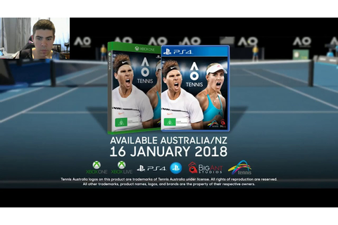 AO TENNIS ANNOUNCED | FIRST THOUGHTS AND IMPRESSIONS - YouTube