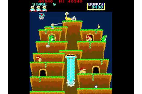 Game of the day 2022 Roc'n Rope (ロックンロープ) 1983 Konami 100 ...
