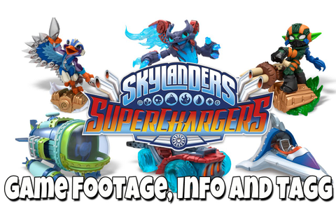 Skylanders SuperChargers [Game Footage, Info and Pictures ...