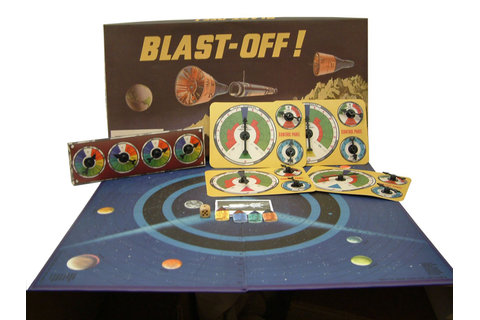 Blast Off - Retro Family Board Game