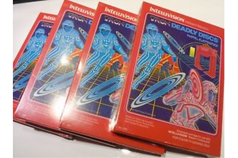 Brand New Sealed Tron Deadly Discs Intellivision Video ...