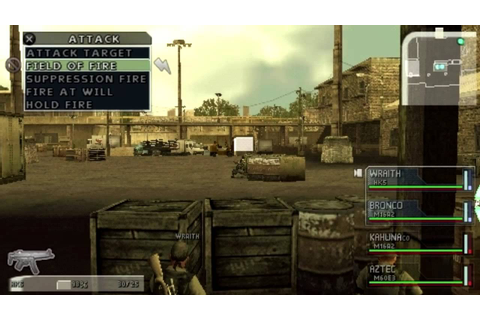 SOCOM: U.S. Navy SEALs Tactical Strike (PSP) Gameplay ...