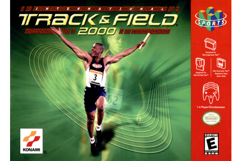 International Track & Field 2000 Nintendo 64 Game
