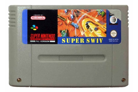 Buy Super Swiv SNES Australia