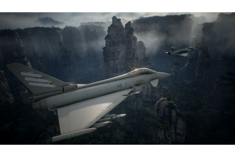 New Ace Combat 7 PS4 Gameplay Video Shows Eurofighter ...