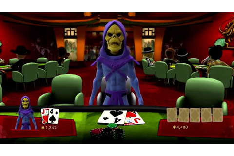 Skeletor Night Out - Xbox Full House Poker - Xbox One ...