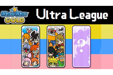 WarioWare Gold: Ultra League playthrough (endgame spoilers ...