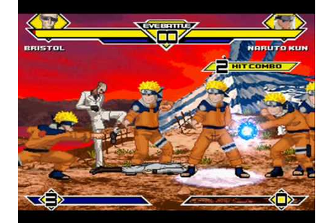 The BEST 2D fighting game. it's called MUGEN. - YouTube