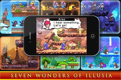 ILLUSIA iPhone game app review | AppSafari