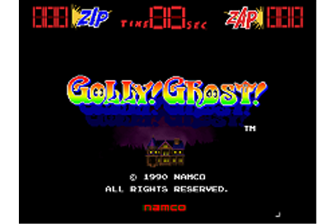 Golly! Ghost! - Mamepedia - all mame emulator games