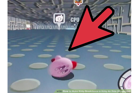 How to Make Kirby Breakdance in Kirby Air Ride (Gamecube ...